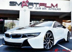 2015 BMW i8 Tinting Clear Bra Service