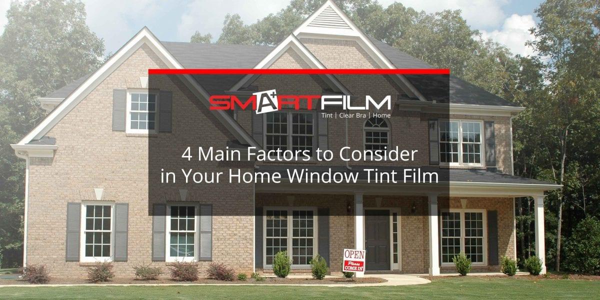 home window tint film