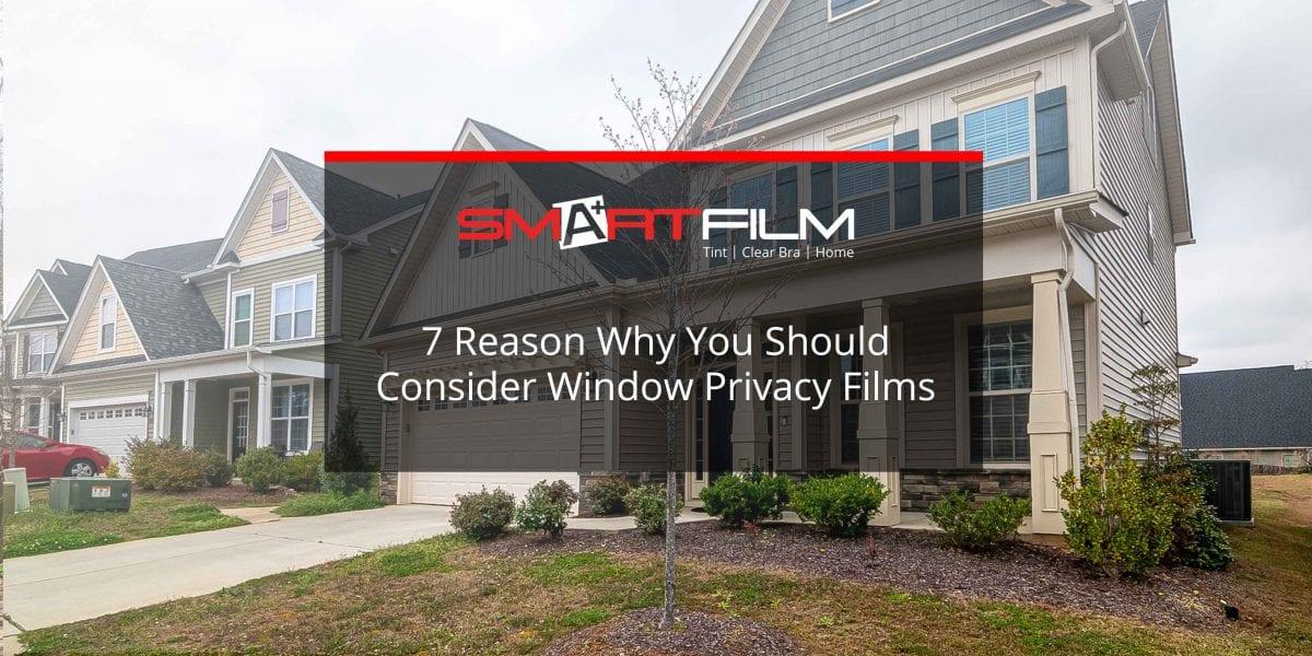 window privacy films