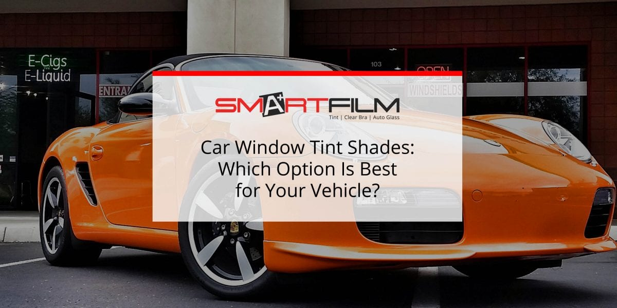 car window tinting shades on window films