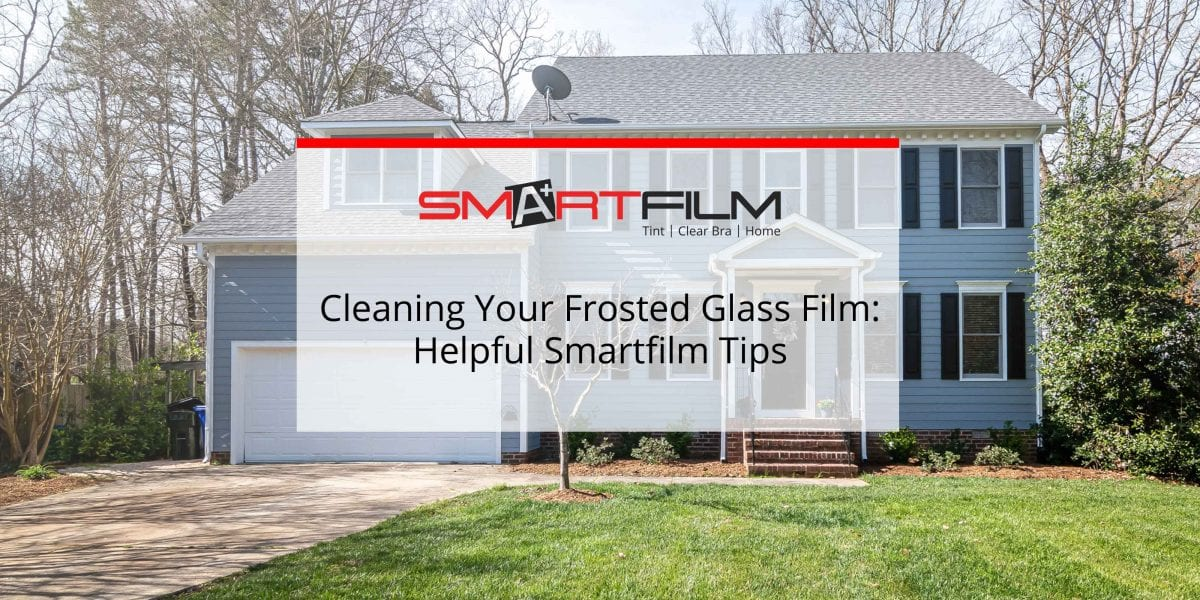frosted glass film