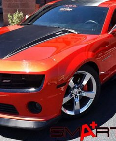 Clear Bra for Red Chevy Camaro