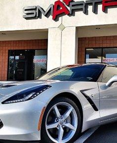 Smart Film for Corvette