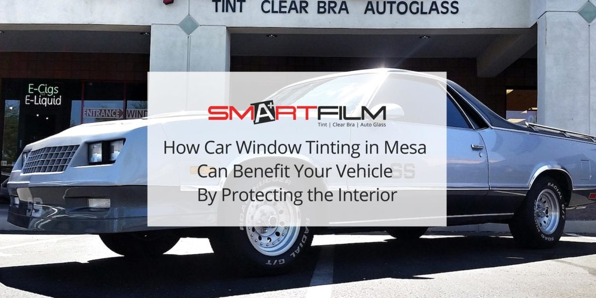 Car Window Tinting in Mesa