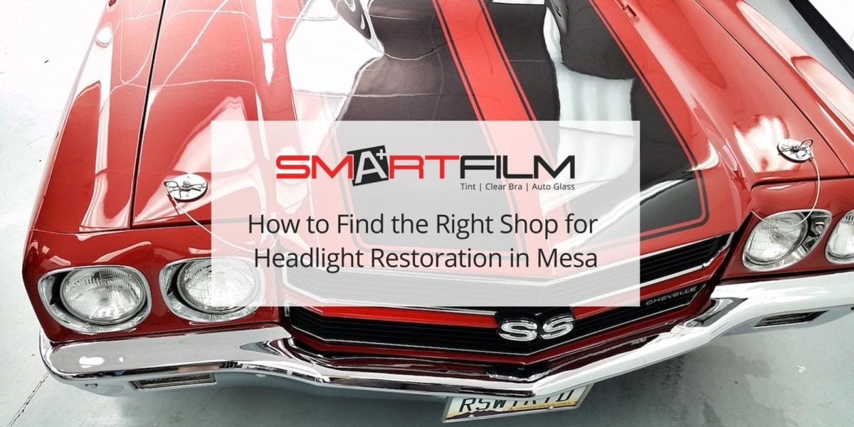 Headlight Restoration in Mesa