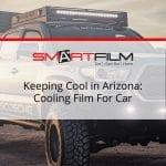 cooling film for car