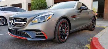 Mercedes Benz Close-Up Clear Bra Phoenix AZ