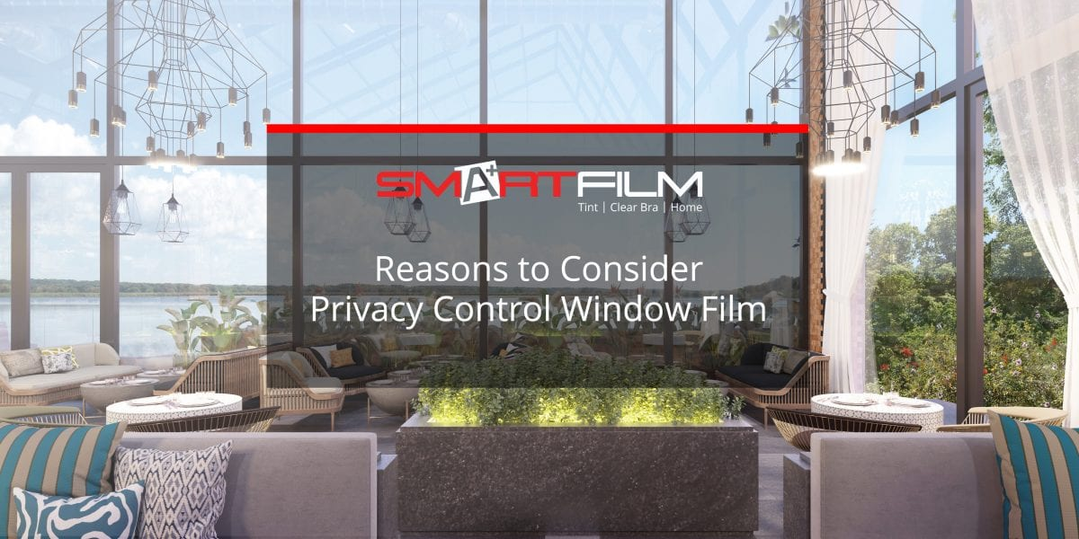 privacy control window film
