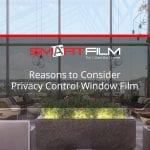 privacy control window film