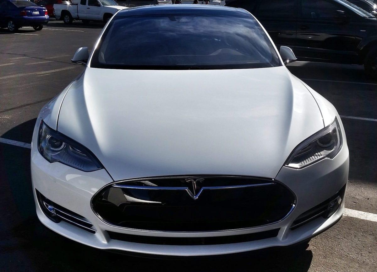 Tesla Paint Protector Film Mesa