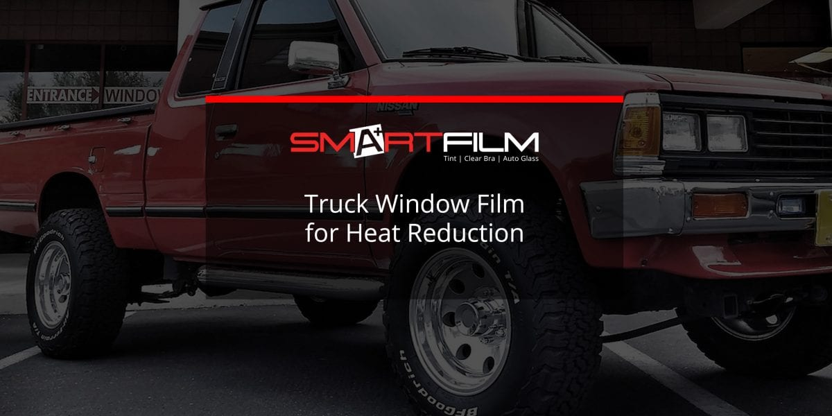 truck window film