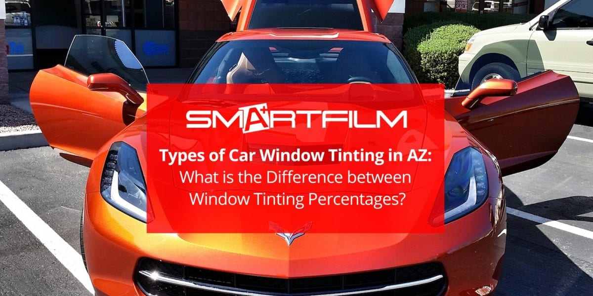 Types of Car Window Tinting in AZ