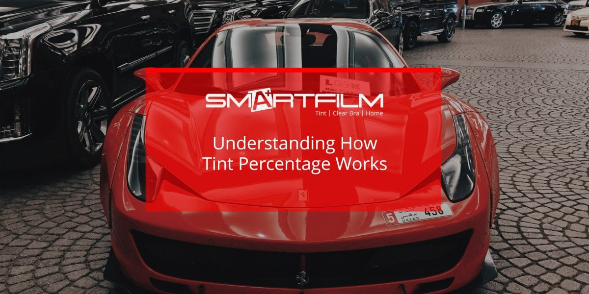 how tint percentage works