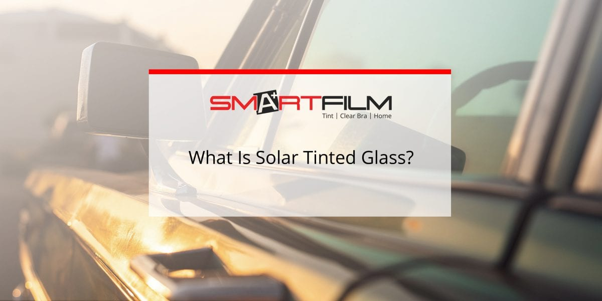 solar tinted glass installation window film tinting