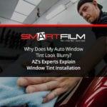auto window tint + az