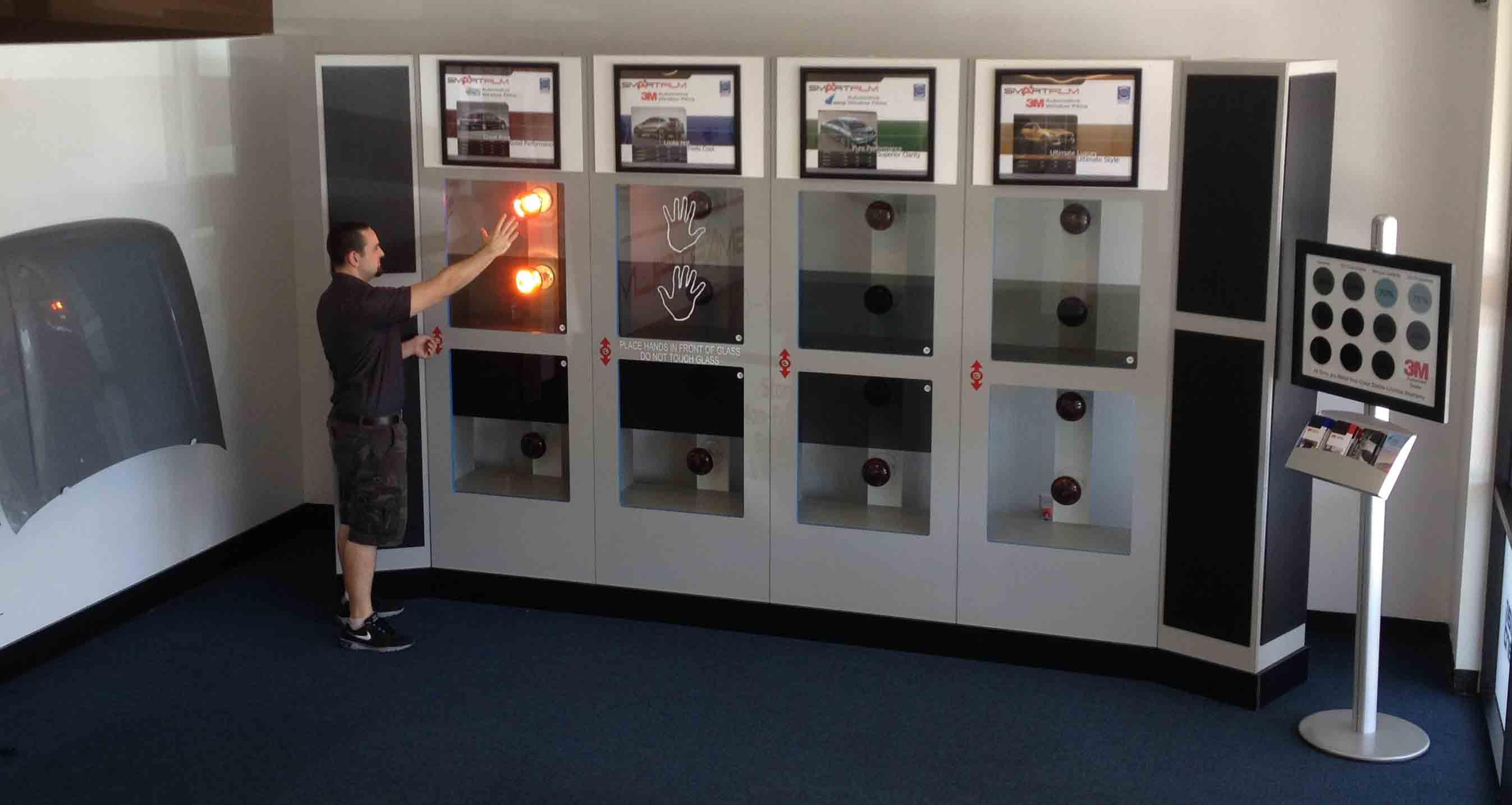 3M Tint Heat Wall Display Mesa, AZ