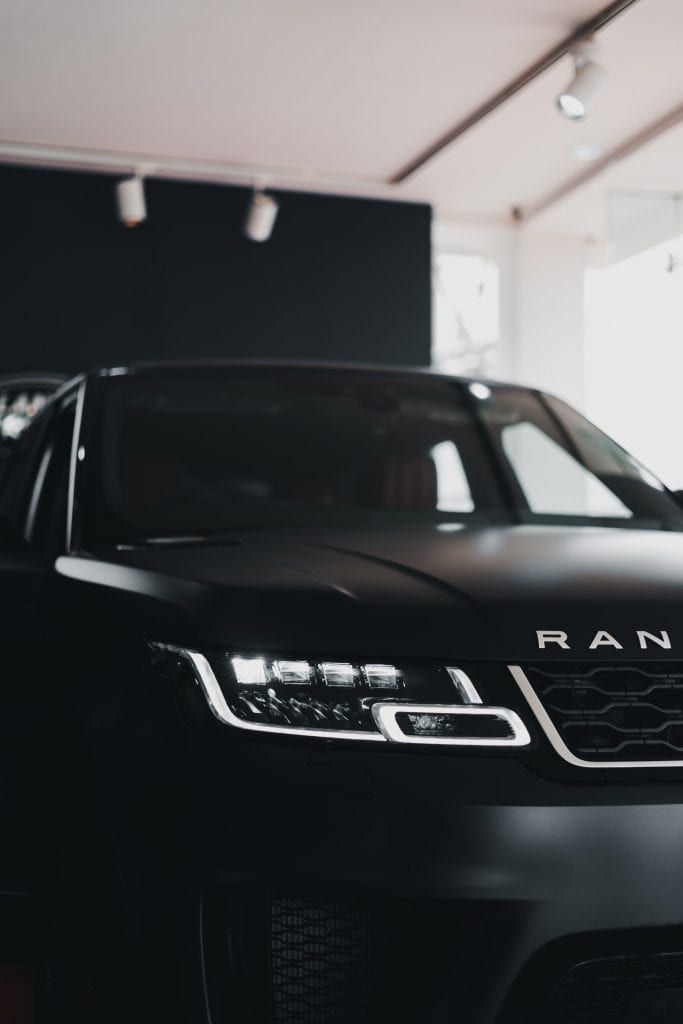 Range Rover Window Tinting
